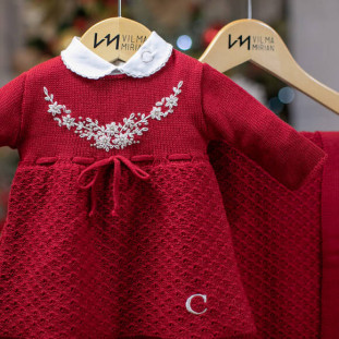 Saída de Maternidade Personalizada Florença Vermelho