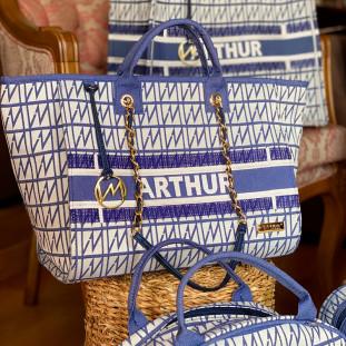 Bolsa Maternidade Chloé Origem Azul Marinho